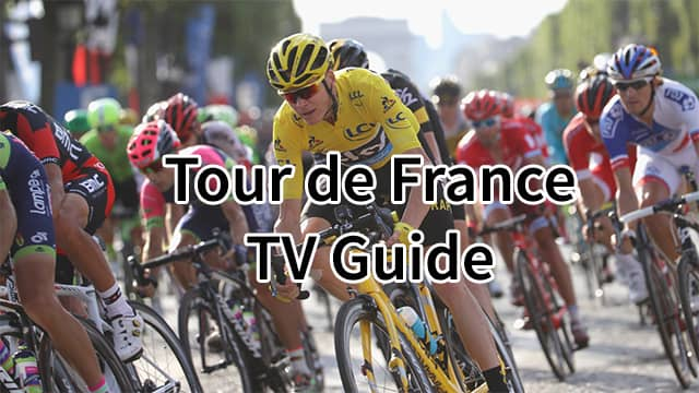 Tour de France TV Schedule 2020