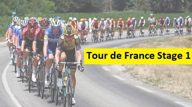 2020 Tour de France Stage 1